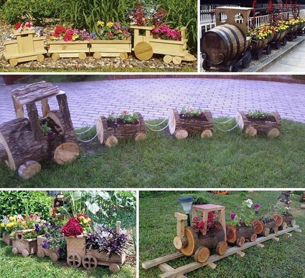 Http Www Ideesandsolutions Com 2014 08 Diy Wooden Train For Your