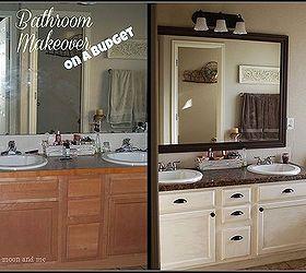 Elegant Bathroom Redo Master Mini Makeover Budget, Bathroom Ideas, Home Decor