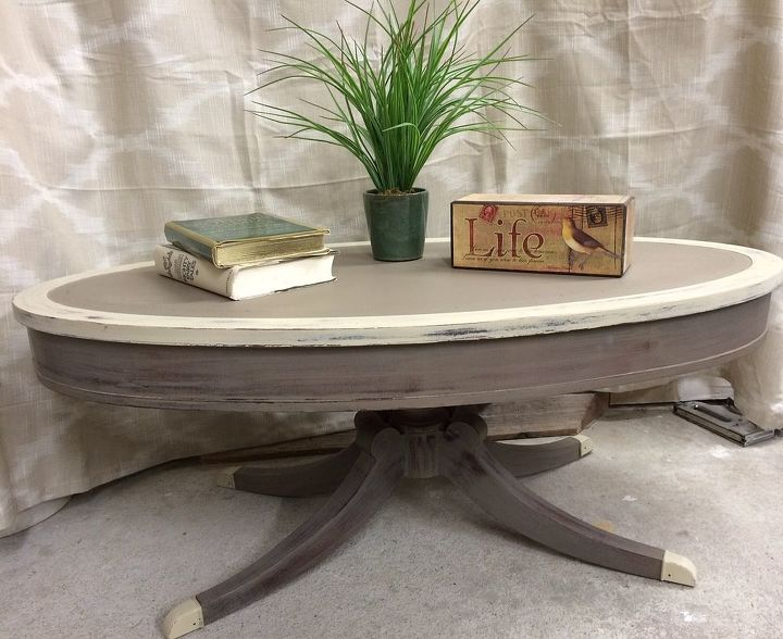 Chalk Paint Coffee Table Annie Sloan Painted Furniture Shabby Chic