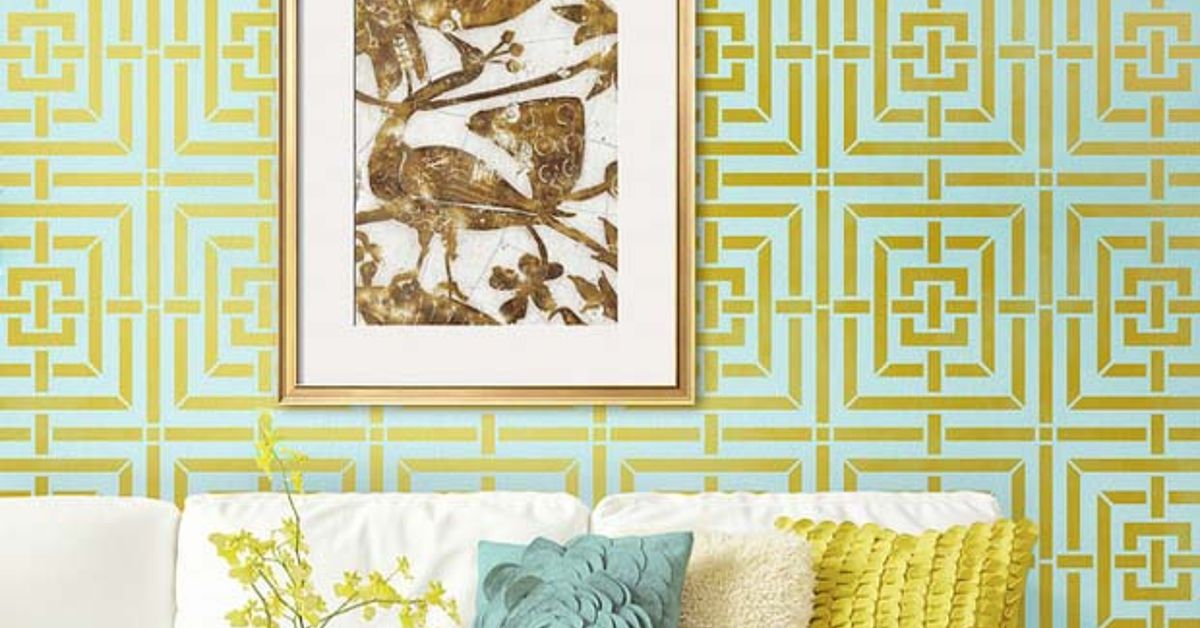 The Joys of Stenciling With Geometric Patterns | Hometalk