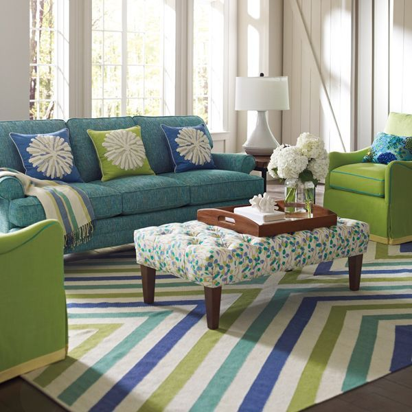 Decorating Ideas Color Inspiration: Combining Patterns And Colors When Decorating