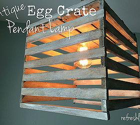 light pendant antique egg crate diy home decor lighting repurposing upcycling & Antique Egg Crate Pendant Light   Hometalk azcodes.com
