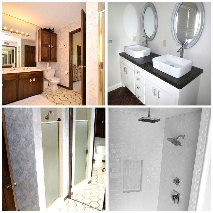 Master Bathroom Remodel Before After Hometalk - Bathroom remodel images before and after