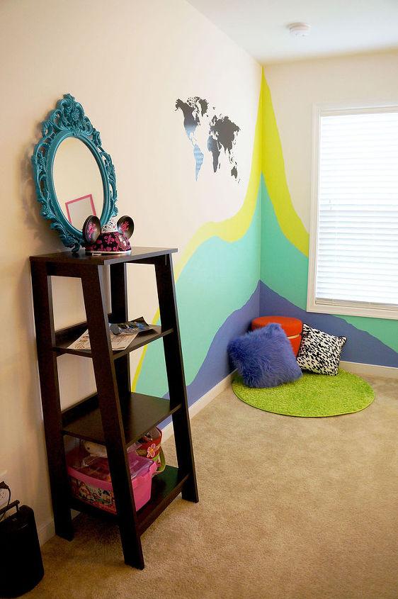 Color Splatter Bedroom Hometalk