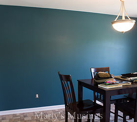 Accent Wall Paint Decor Transforming, Dining Room Ideas, Home Decor,  Painting, Wall