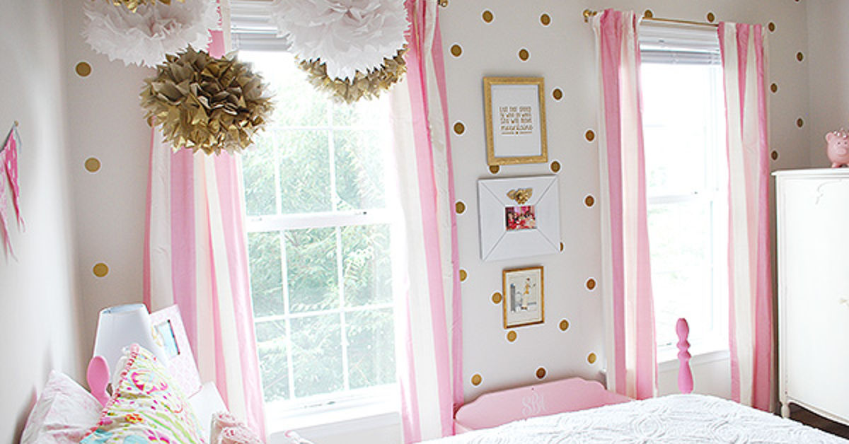 girl s room in pink white gold decor hometalk 16680 | bedroom ideas girls room pink white gold decor bedroom ideas painted furniture reupholster size 1200x628