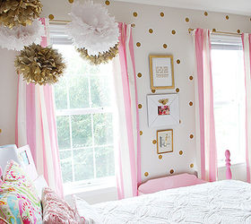 Bedroom Ideas Girls Room Pink White Gold Decor, Bedroom Ideas, Painted  Furniture, ...