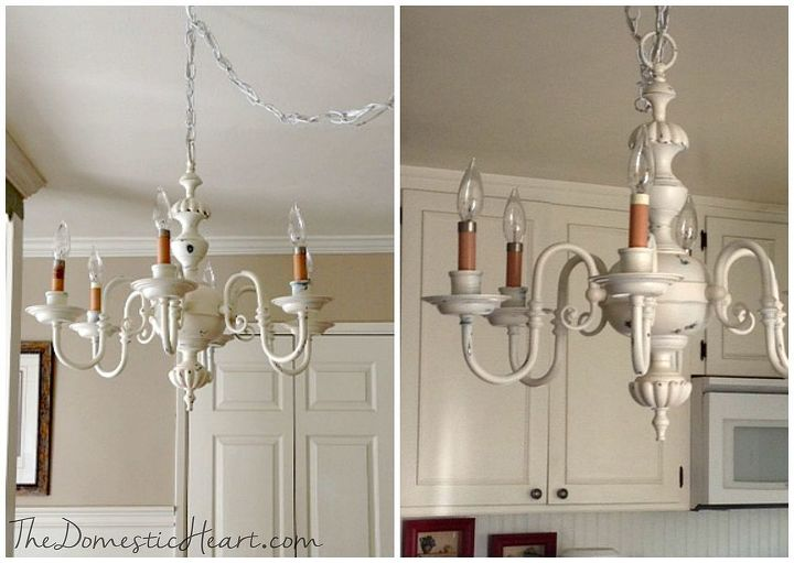Shabby chic antique chandelier makeover hometalk shabby chic chandelier makeover antique diy lighting repurposing upcycling mozeypictures Images