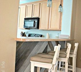 Ordinaire Diy Kitchen Bar Planked Wall, Diy, Kitchen Design, Wall Decor, Woodworking  Projects