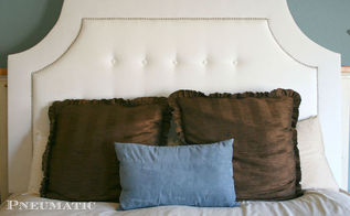 tufting a headboard the easy way, diy, reupholster