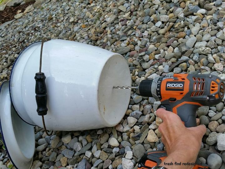 MY EXCITING DEMO OF ME DRILLING A HOLE!