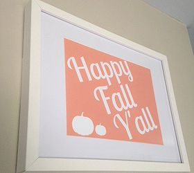 picture about Happy Fall Y All Printable named Satisfied Slide Yall- No cost Printable Hometalk