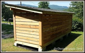 Building a Woodshed