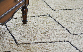 how to makeover a rug in an afternoon for 5, diy, how to, reupholster