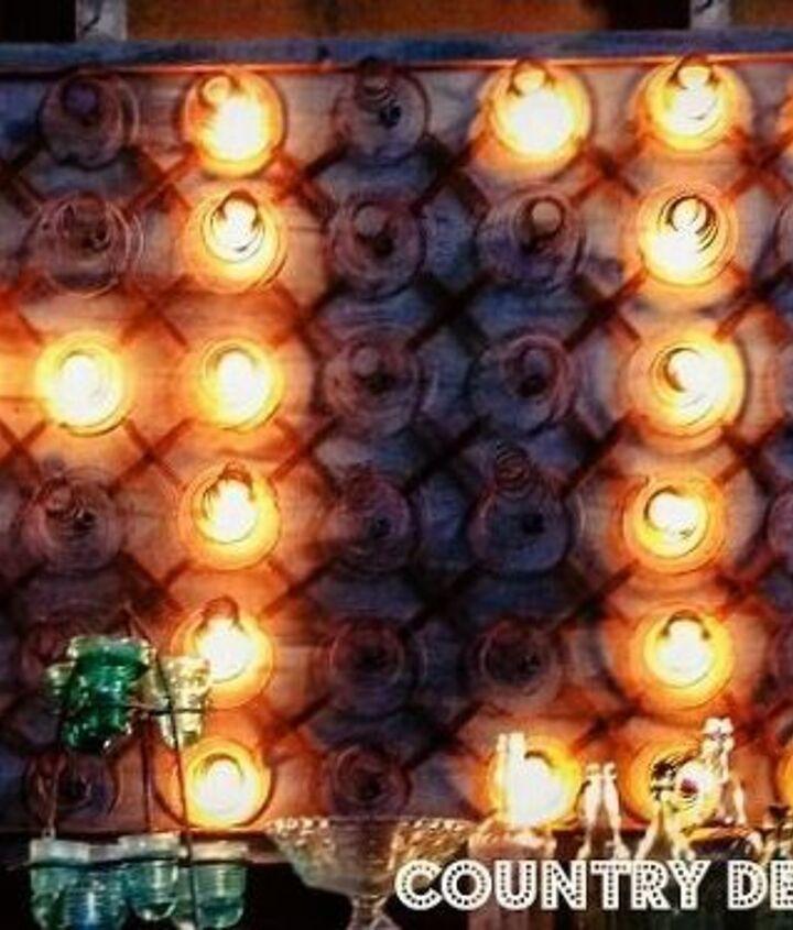 rusty bedsprings marquee lights, diy, lighting, outdoor living, repurposing upcycling