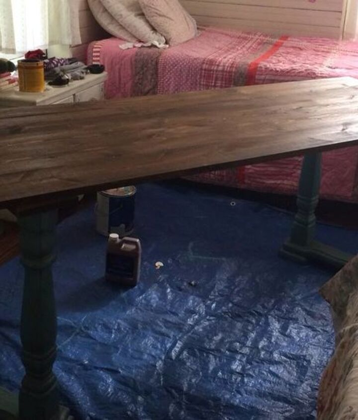 building a new desk, home office, painted furniture, repurposing upcycling, woodworking projects