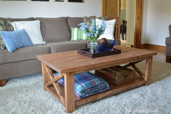 Diy Coffee Table For Around 100 Home Decor Painted Furniture Woodworking
