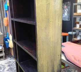 Beau Transforming An Ordinary Wood Bookcase With Milk Paint, Decoupage, Painted  Furniture, Repurposing Upcycling