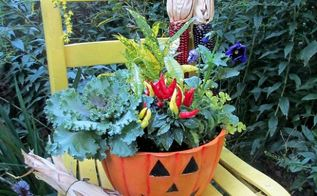 seven fabulous fall containers, container gardening, gardening, seasonal holiday decor