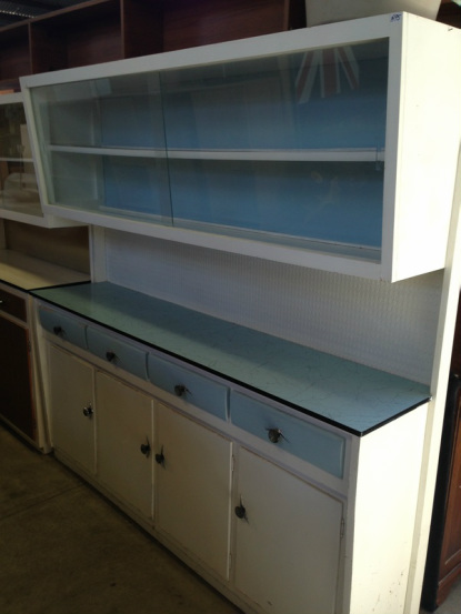 Upcycling a Vintage Kitchen Hutch With Chalk Paint | Hometalk