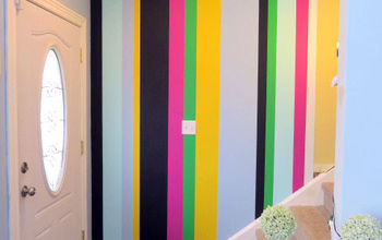 Painting Vertical Stripes