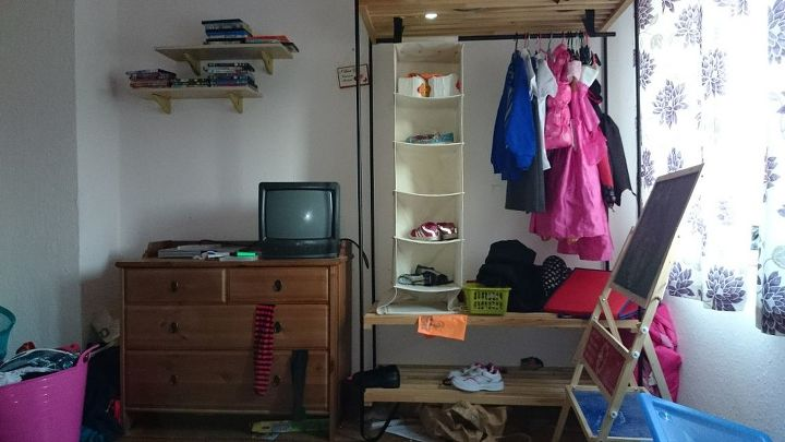 q revamp daughters bedroom, bedroom ideas, organizing
