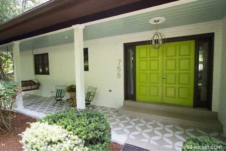 Front porch makeover.