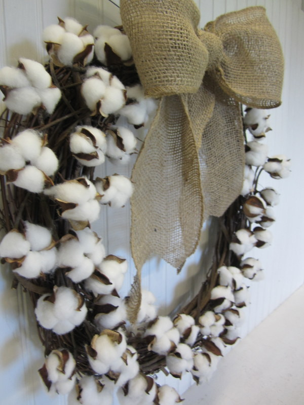 how to make your own cotton ball branch wreath, crafts, seasonal holiday decor, wreaths