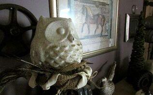 crafts burlap birds nest fall decor, crafts, home decor