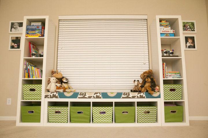 ikea kid toy storage shelves organizing repurposing upcycling storage ideas reupholster - Toy Organizer Ideas