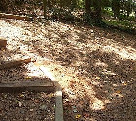 Q Landscaping Help Step Removal Hill, Concrete Masonry, Landscape, Stairs