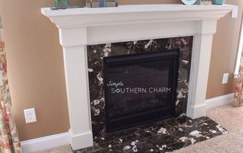 A Much Needed Mantel Makeover!