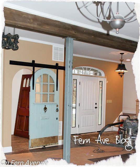 how to install sliding pantry door, closet, doors