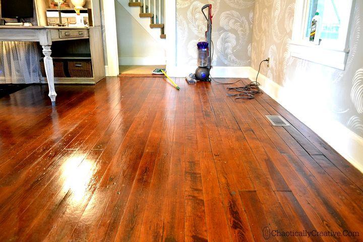 Shine Dull Floors In Minutes Using Quickshine Hometalk