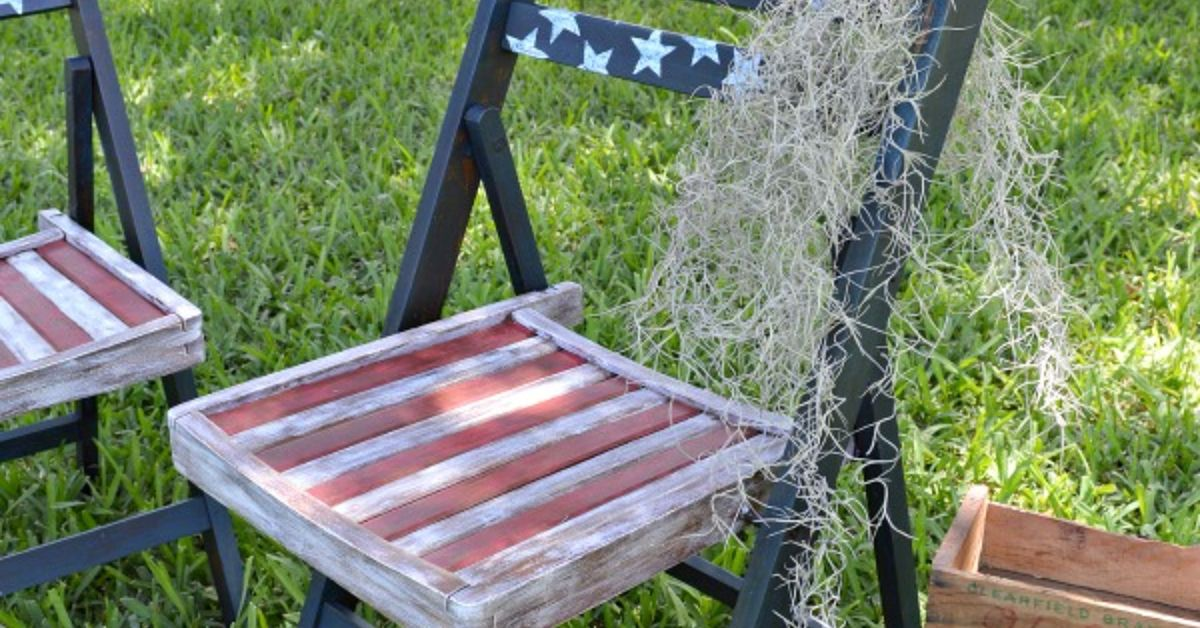 Decoupage Americana Patio Chairs Hometalk