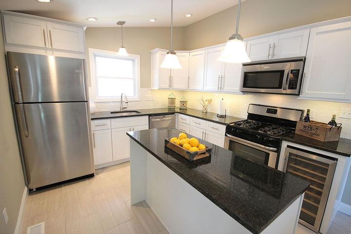 White Kitchen Cabinets From TV Show Flipping Boston | Hometalk