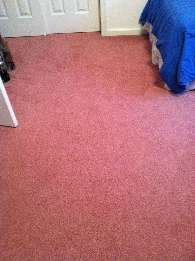 How To Decorate A Guest Bedroom With Pink Carpet