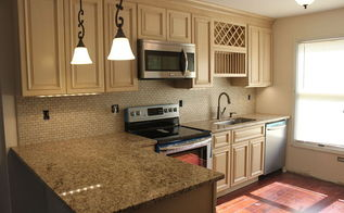 kitchen ideas tuscany before after, kitchen cabinets, kitchen design, Great Color Palette Compliments the cabinets