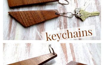 Easy Scrap Wood Keychain