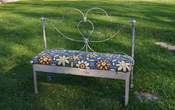 Bed Frame Turned Bench