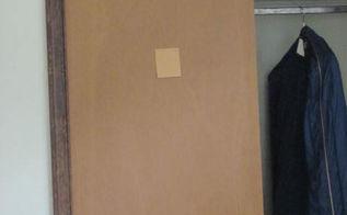 covering paint closet doors ideas, closet, paint colors, painting, Sliding door on right side closet