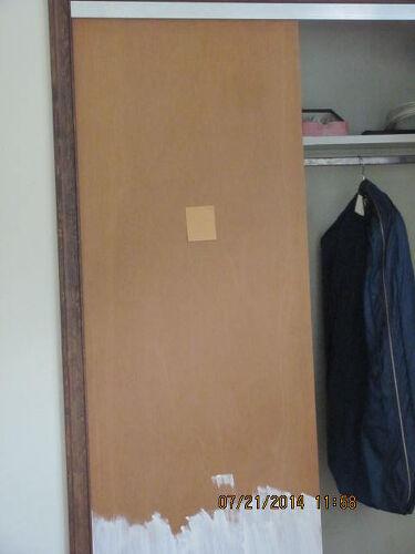 Closet Door With Paint On Them Hometalk