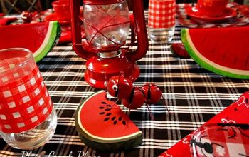 Late Summer Fun With a Picnic Ants Tablescape