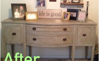my first annie sloan buffet project, chalk paint, painted furniture