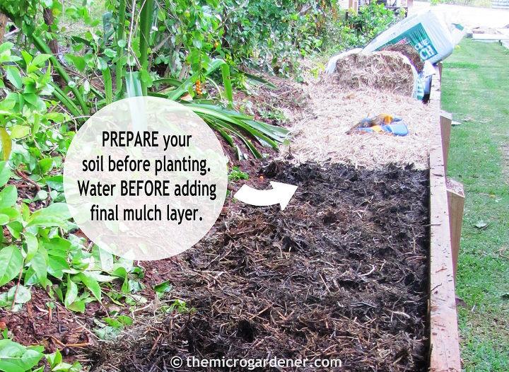I add organic matter every season to my beds