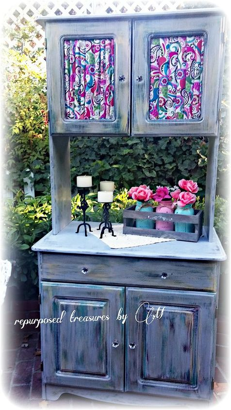 ikea hack painted cabinet artwork, chalk paint, painted furniture, repurposing upcycling, reupholster