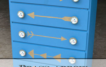 Brass Arrow Dresser