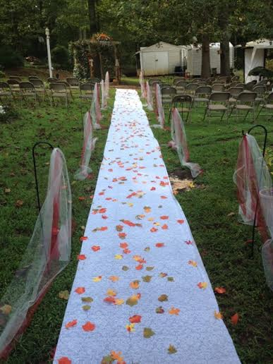 backyard ideas wedding decor budget, home decor, outdoor living