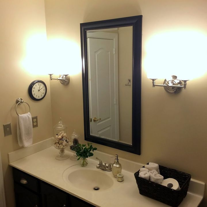 Birds & Butterflies Guest Bathroom Makeover