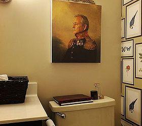 Bird wall decor for bathroom